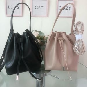 Forever 21 Bucket Bag NUDE